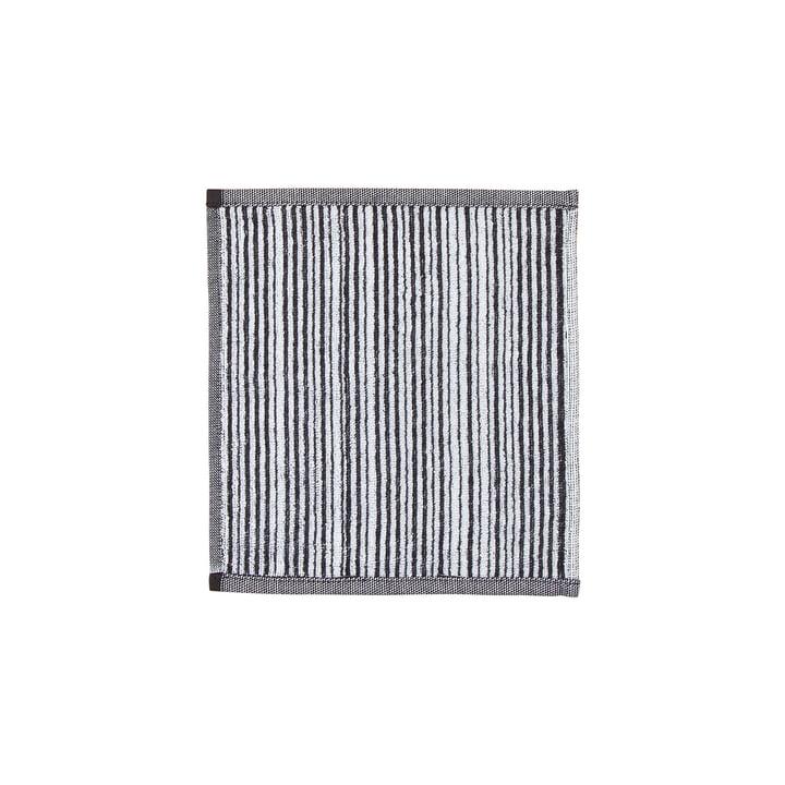 Marimekko - Varvunraita Face Towel 30 x 30cm, white / black