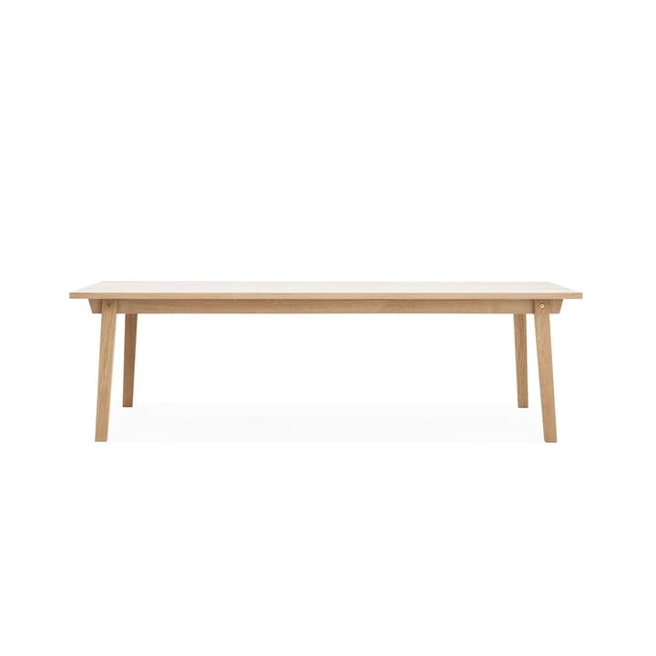 Slice Table Wood 90 x 250 cm by Normann Copenhagen out of Oak