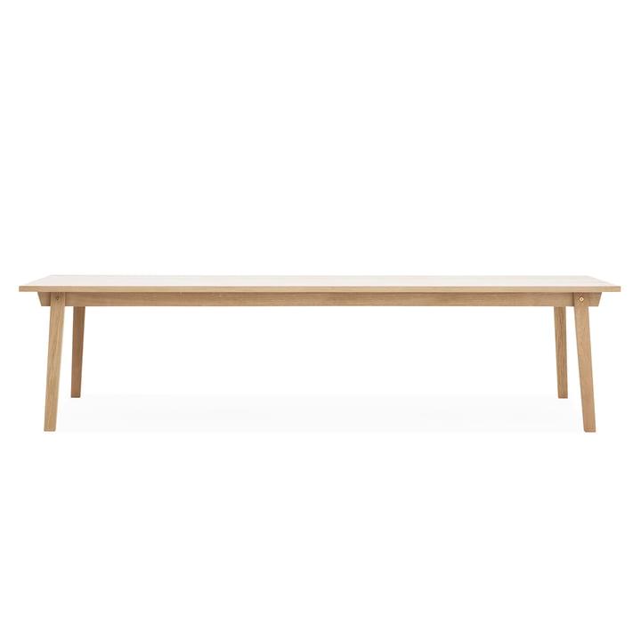 Slice Table Wood 90 x 300 cm by Normann Copenhagen out of Oak