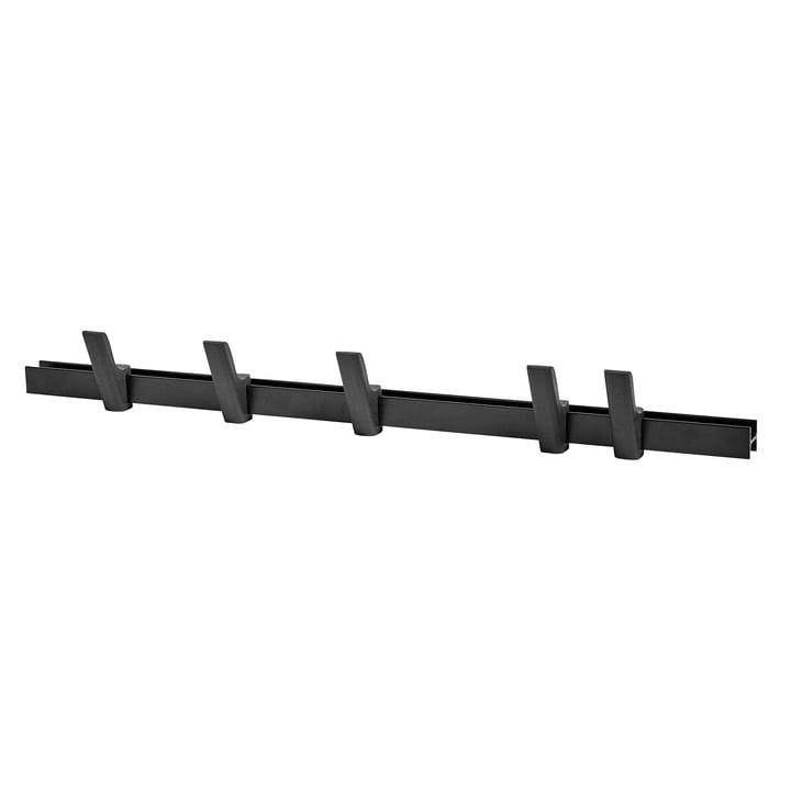Hay - Beam L 90 cm, charcoal / hook charcoal