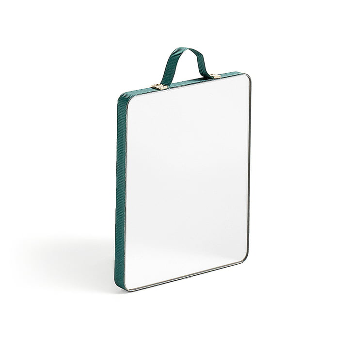 The Hay - Ruban Mirror rectangular S in green