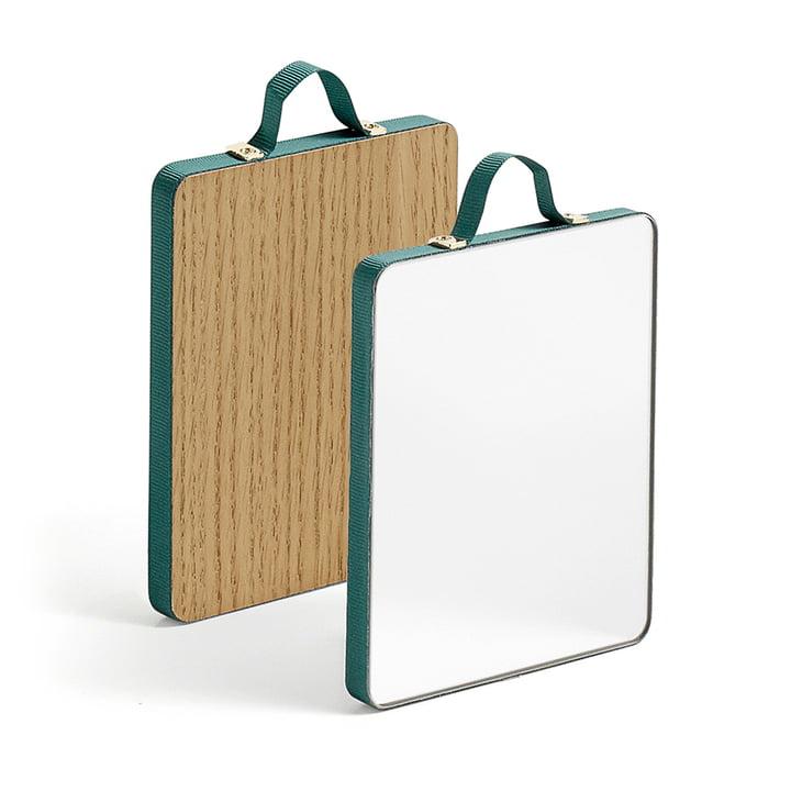 The Hay - Ruban Mirror rectangular S in green