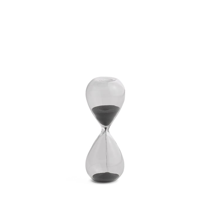 The Time Hourglass S by Hay in black