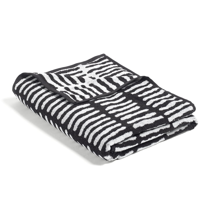 Hay - He She It, He Beach Towel, black / beige