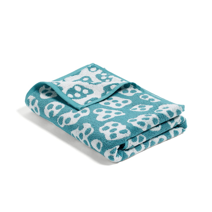 Hay - He She It, She Towel, turquoise / beige