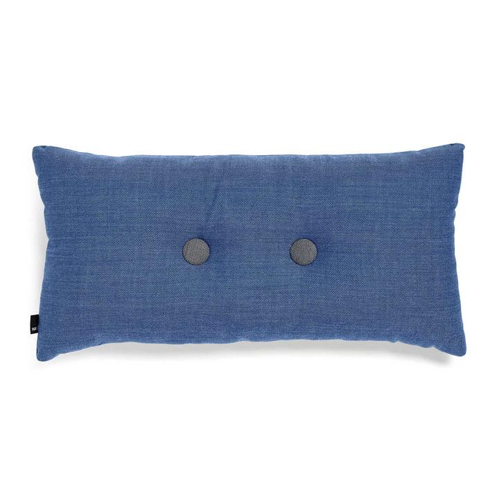 Hay - 2x2 Dot Cushion 70 x 36cm, denim