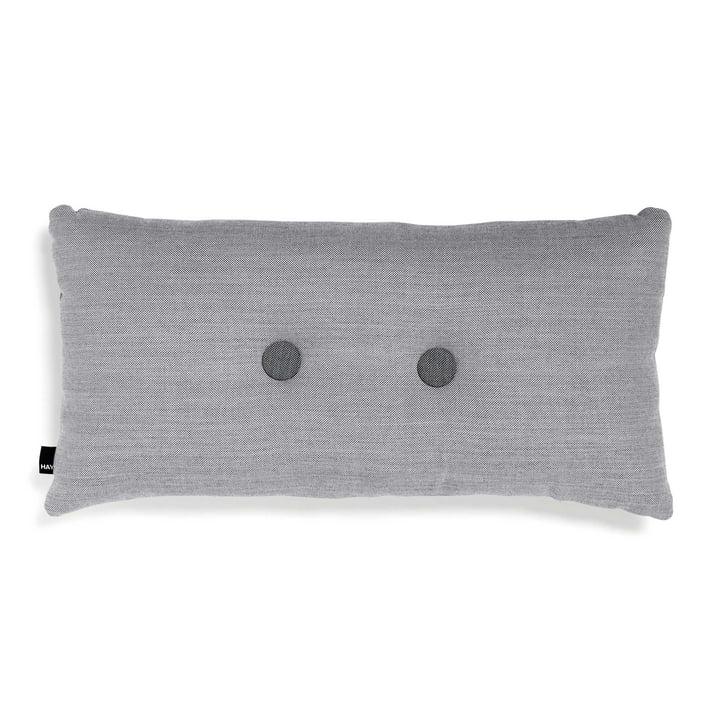 Hay - 2 x 2 Dot cushion 70 x 36cm, light grey