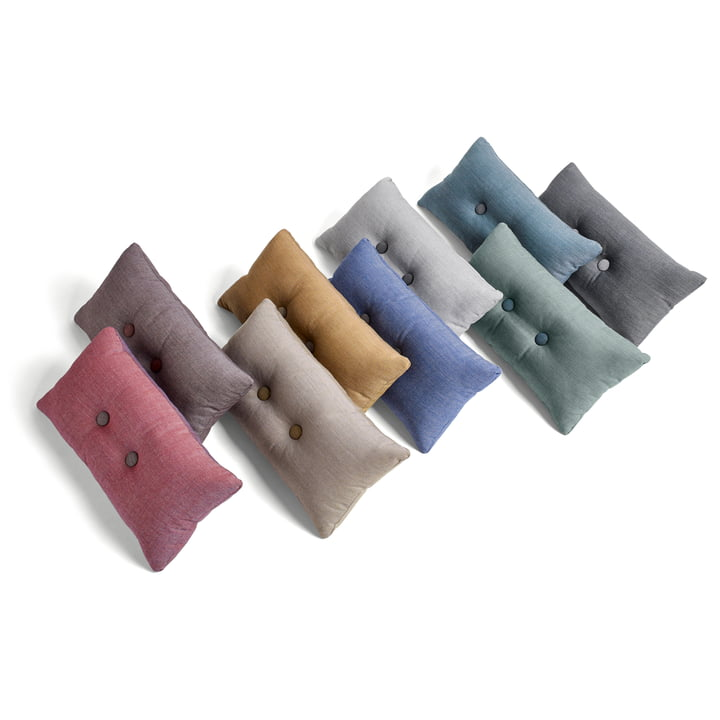 The diversity of the 2 x 2 Dot cushion by Hay