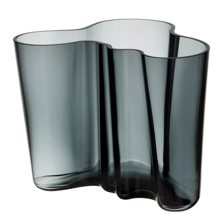 Iittala - Aalto Vase Savoy, dark grey 160 mm