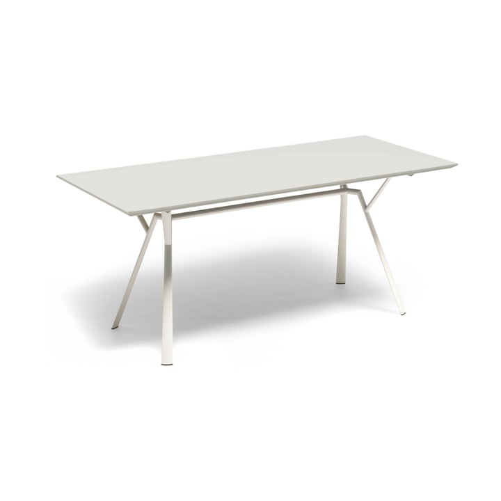 Fast - Radice Quadra dining table 150 x 90 cm, white