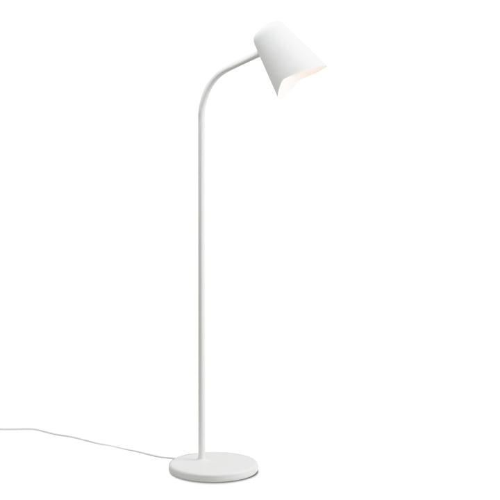The Northern - Me Floor Lamp in white
