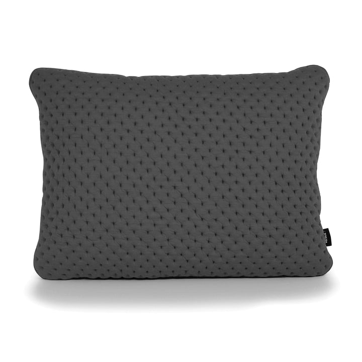 Bouclé Cushion 55 x 45 cm by bruunmunch in Graphite