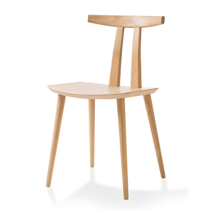 J111 Chair by bruunmunch in oak soaped