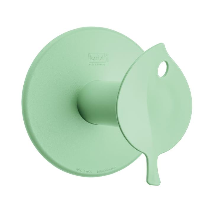 Sense Toilet Roll Holder by Koziol in solid mint