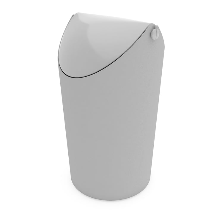 Jim Rubbish Bin from Koziol in Grey