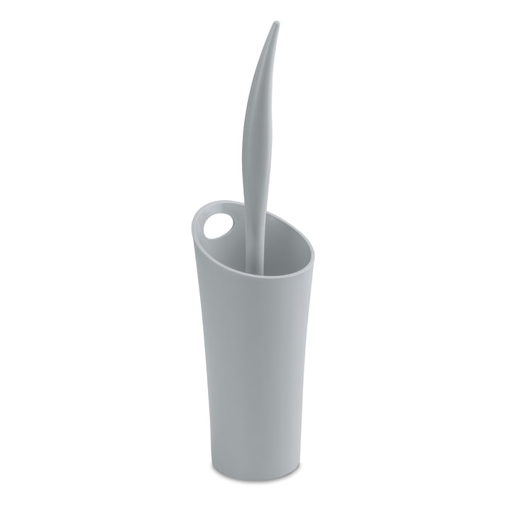 Sense Toilet Brush by Koziol in grey