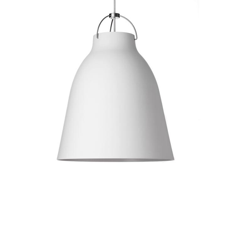 Caravaggio P1 Pendant Lamp by Fritz Hansen in matt, white