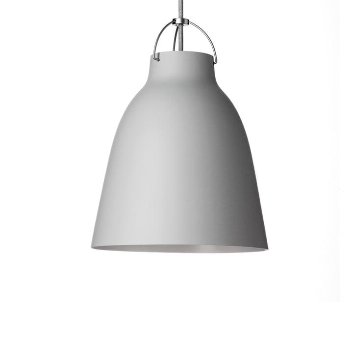 Caravaggio P1 Pendant Lamp by Fritz Hansen in matt, light grey