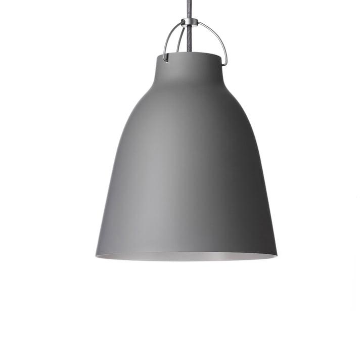Caravaggio P1 pendant lamp by Fritz Hansen in matt dark grey