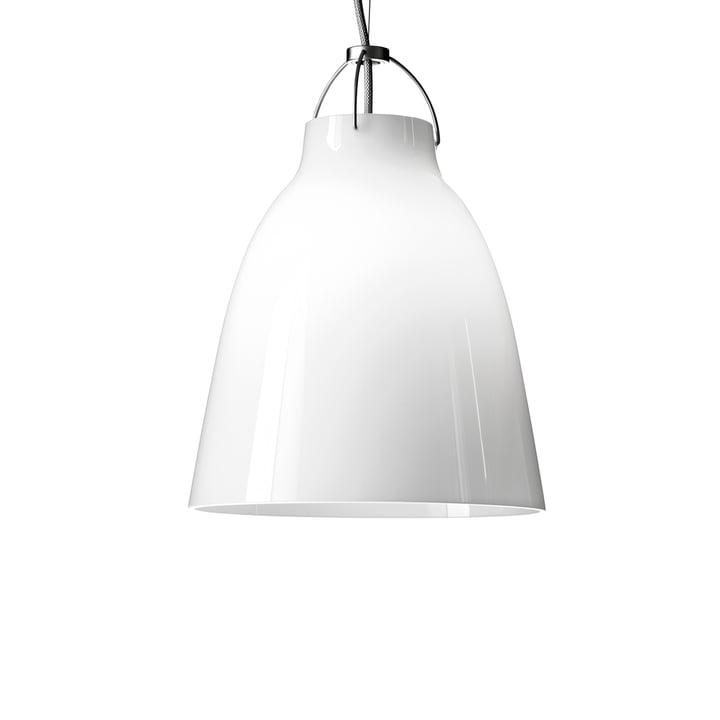 Caravaggio P1 Pendant Lamp by Fritz Hansen in opal