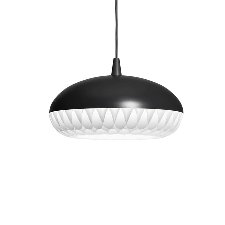 Aeon Rocket Pendant Lamp P1 by Fritz Hansen in black