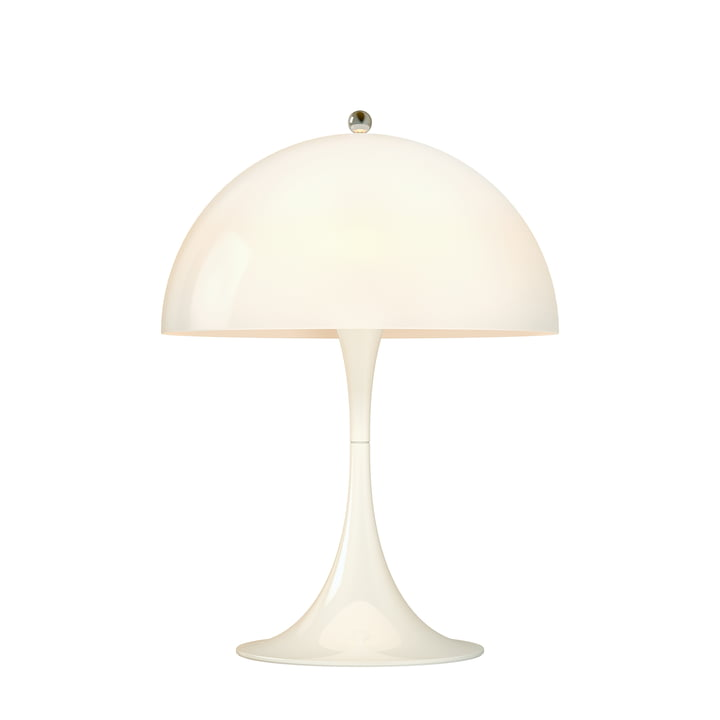 Panthella Mini Table lamp Ø 25 cm from Louis Poulsen in opal white