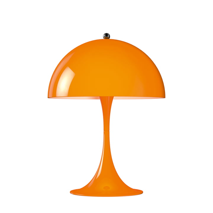 Panthella Mini table lamp Ø 25 cm by Louis Poulsen in Orange