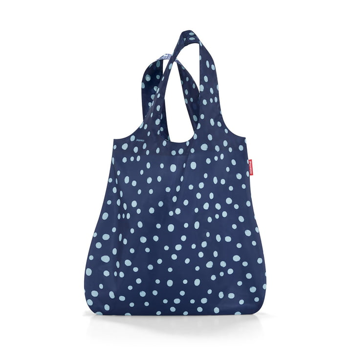 mini maxi shopper from reisenthel to spots navy