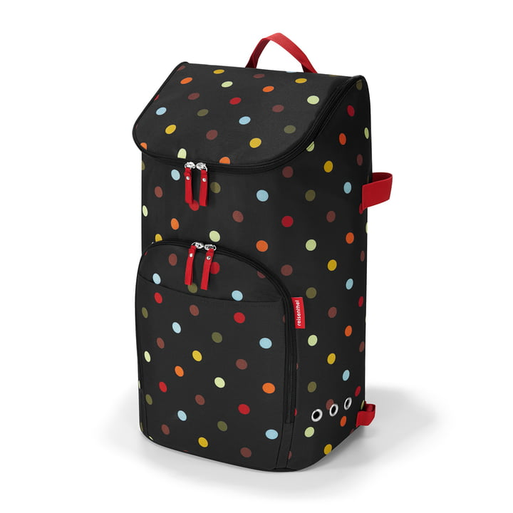 The reisenthel - citycruiser bag shopping trolley in dots