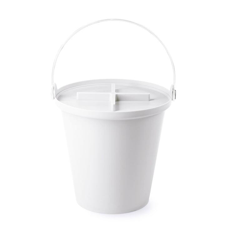 Authentics - H2O bucket, white / white