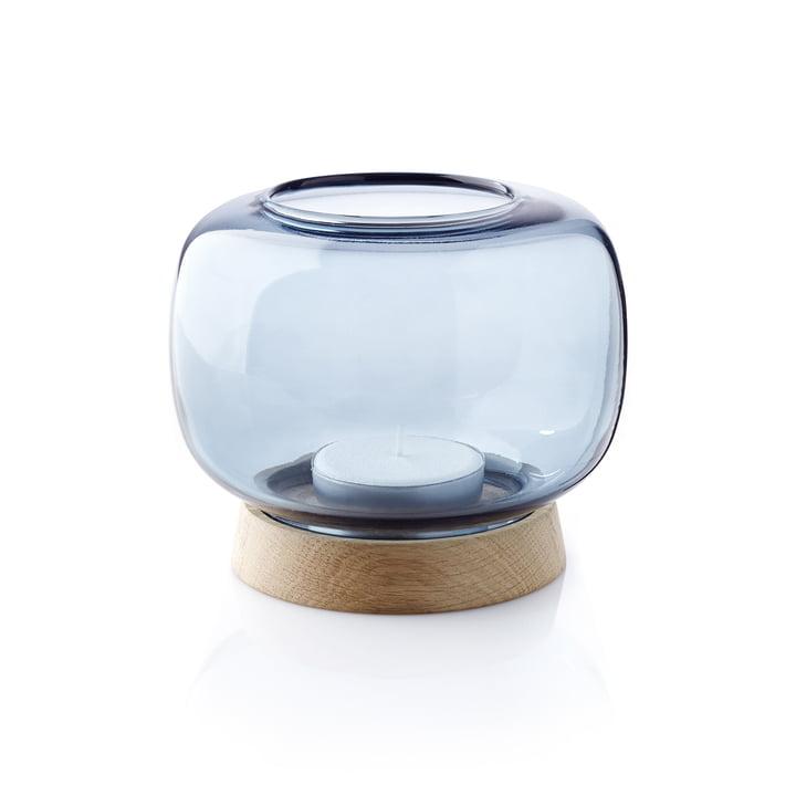 The applicata - Hurricane Tealight Holder maxi in blue
