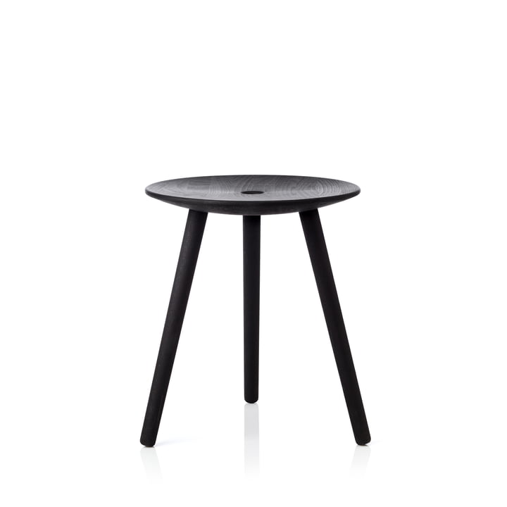 The applicata - Di Volo Stool in smoked oak
