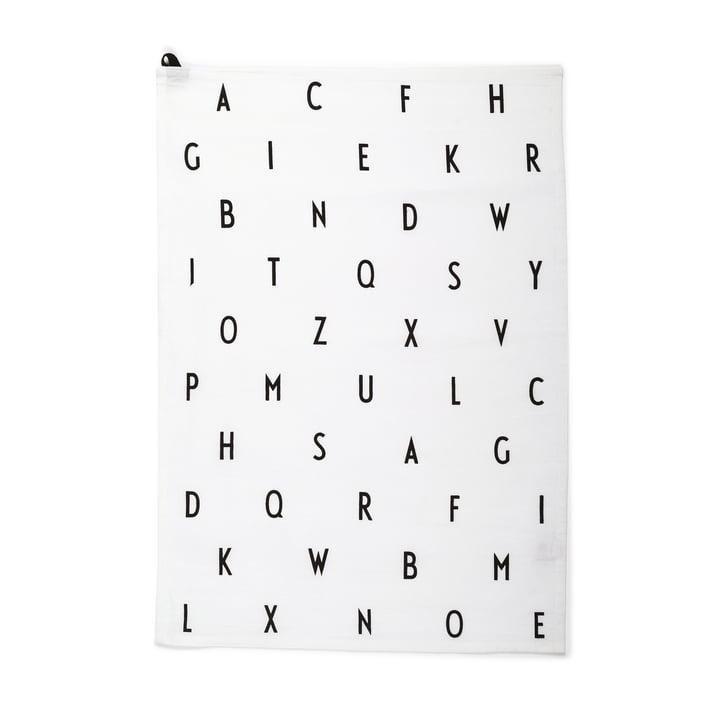 The tea towel vintage ABC by Design Letters.