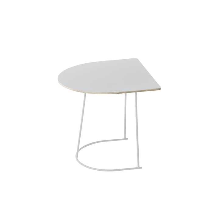 Muuto - Airy Coffee Table, Half Size, white