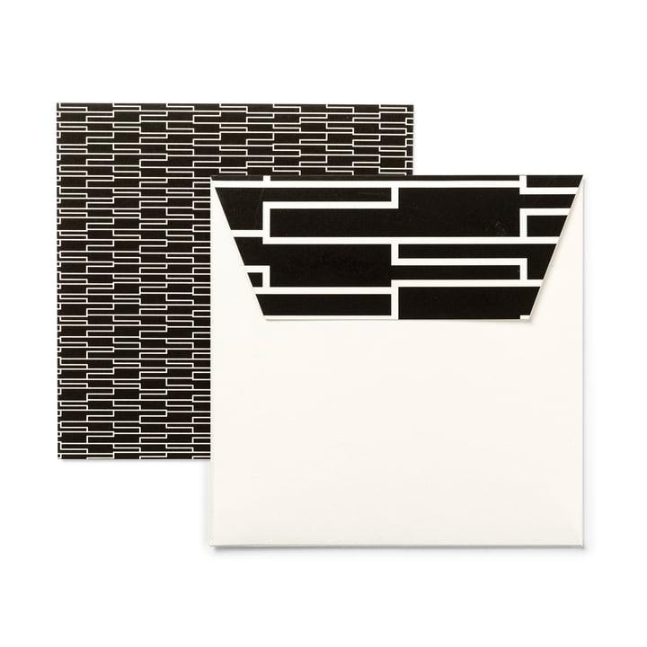 Design Letters - AJ Design Cards (set of 6), Royal Vintage
