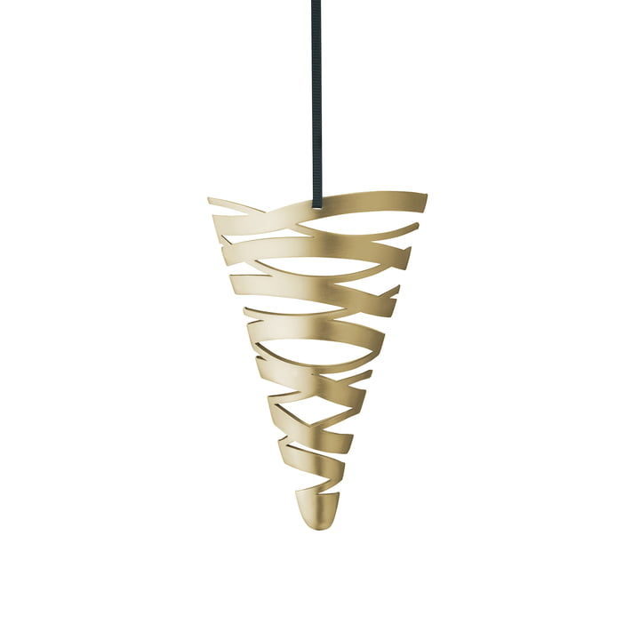 Tangle ornament cone by Stelton in Small