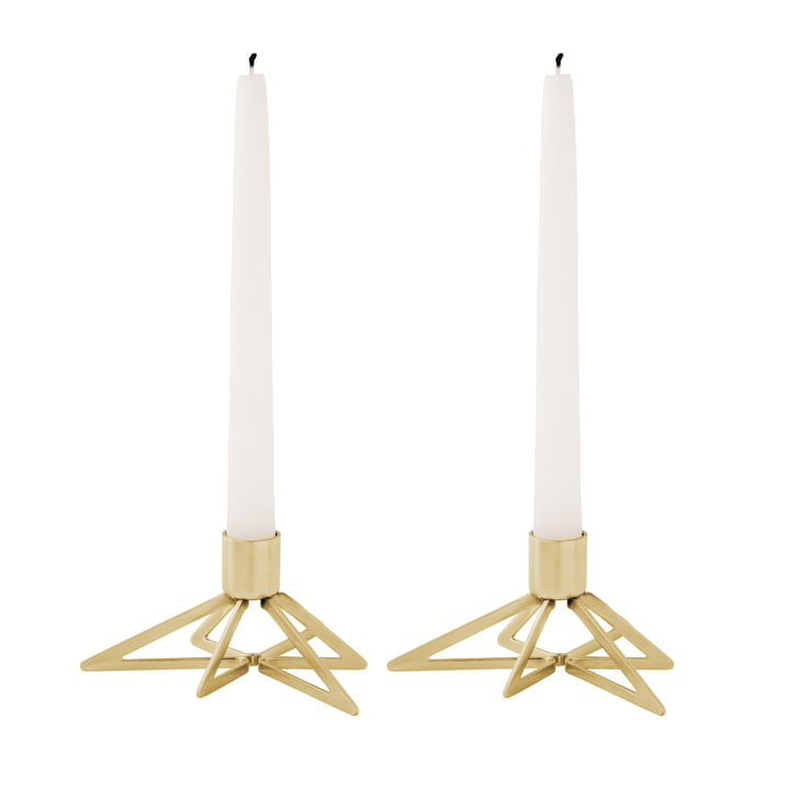 Tangle Star Candle Holder (set of 2) by Stelton