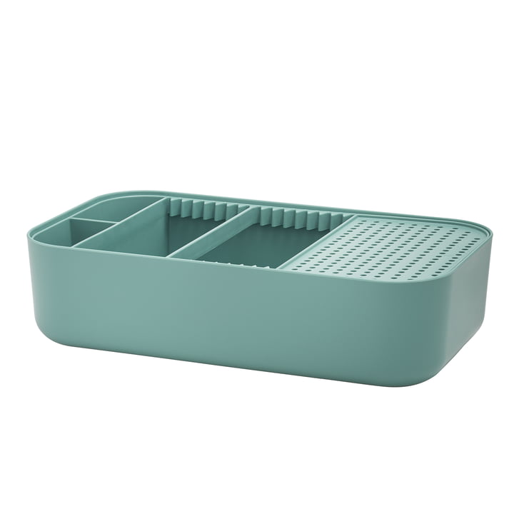 Dishy Washing-Up Bowl and Draining Board from Rig-Tig by Stelton in Green