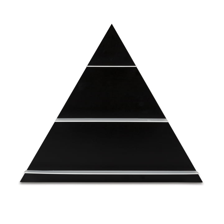 Design Letters - Paper Shelf Triangle, black