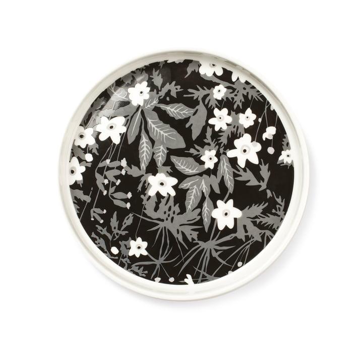 Design Letters - AJ Porcelain Snack Plate, vintage flower