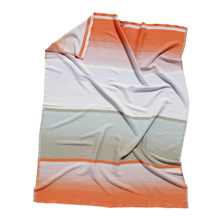 Colour Plaid Woolen Blanket colour: No. 9 by Hay