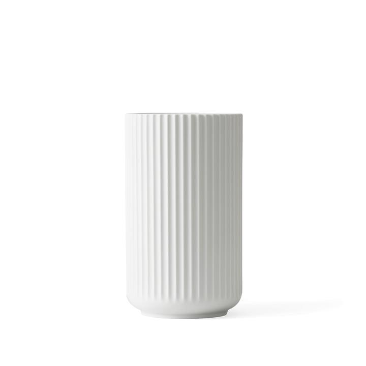 Lyngby Porcelæn - Lyngby Vase, white matt, H 12 cm