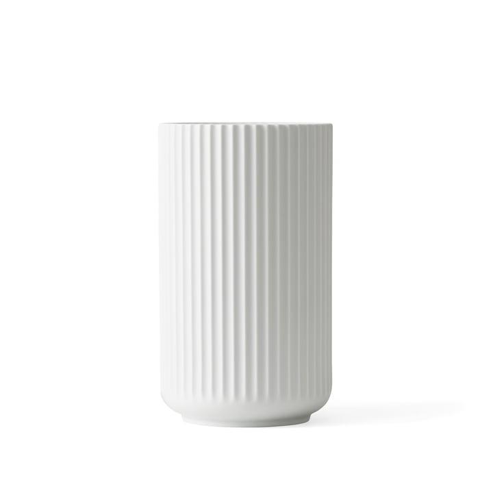 Lyngby Porcelæn - Lyngby Vase, white matt, H 15 cm