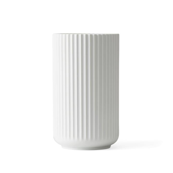 Lyngbyvase H 15,5 cm from Lyngby Porcelæn white