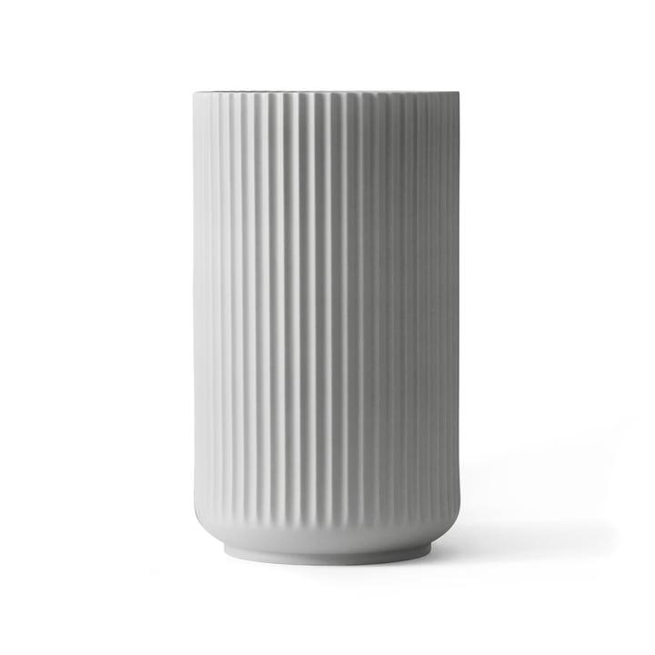 Lyngby Porcelæn - Lyngby Vase, light grey, H 25 cm