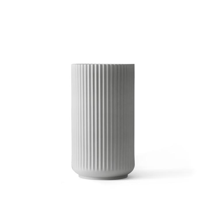 Lyngby Porcelæn - Lyngby Vase, light grey, H 12 cm