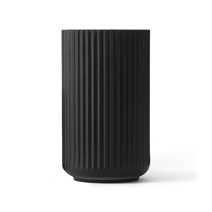Lyngby Porcelæn - Lyngby Vase, black, H 25 cm