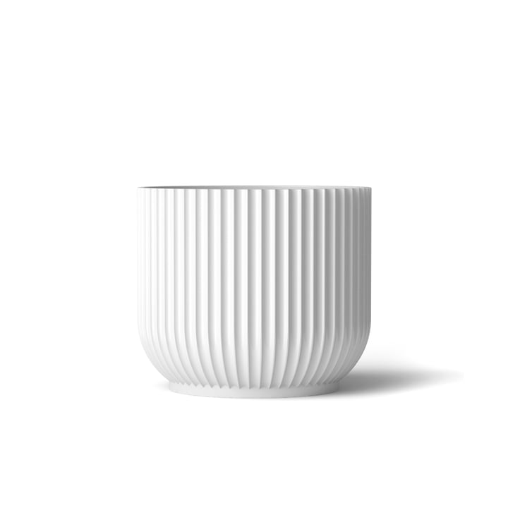 Flower Pot S by Lyngby Porcelæn in white
