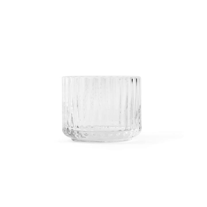 Tea Light Holder transparent ø 6,7 cm from Lyngby Porcelæn