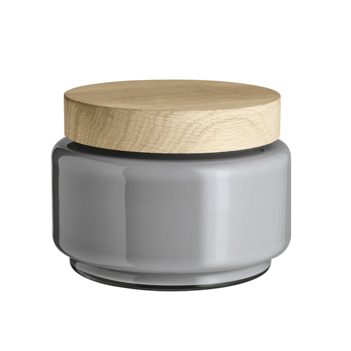 Palet Storage Jar 1.2 l by Holmegaard in Light Grey